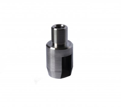 Muzzle adaptor for Ruger 1022 1/2-28 -Stainless Steel